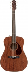 FENDER PM-1 Dreadnought All Mahogany with Case, Natural OV