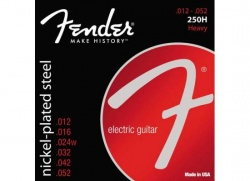 FENDER STRINGS NEW SUPER 250H NPS BALL END 12-52