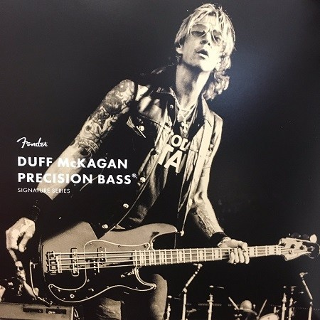 Fender Duff McKagan Bass