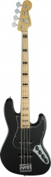 FENDER American Elite Jazz Bass®, Maple Fingerboard, Black