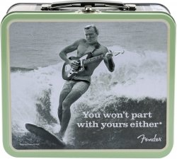 FENDER LUNCHBOX, WON`T PART 1 W/ACCESSORIES