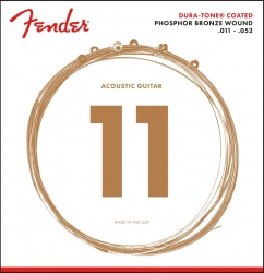 FENDER 860CL PHOSPHOR BRONZE COATED 11-52