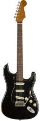 FENDER LIMITED EDITION RELIC ROASTED DUAL-MAG STRAT, BLACK