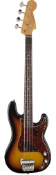 FENDER Custom Shop Sean Hurley Signature 1961 Precision Bass, Rosewood Fingerboard, Faded 3-Color Sunburst бас-гитара