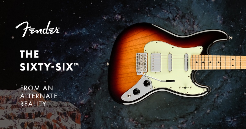 Fender Sixty Six. Стратокастер в корпусе Jazz Bass