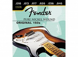 FENDER STRINGS NEW ORIGINAL 150R PURE NCKL BALL END 10-46