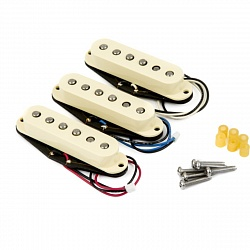 FENDER Custom Shop Fat `50s Stratocaster Pickups, (3)