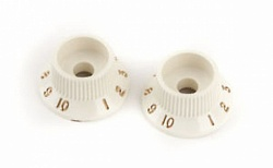 FENDER Stratocaster S-1 Switch Knobs Parchment (2)