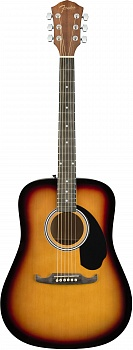 FENDER FA-125 Dreadnought w/bag, SB – фото 1