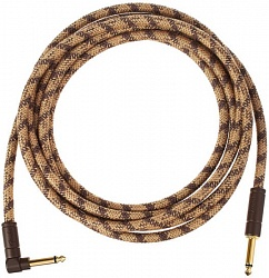 FENDER 10` ANG CABLE, PURE HEMP BRN