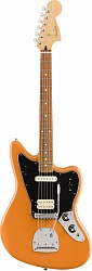 FENDER PLAYER JAGUAR®, PAU FERRO FINGERBOARD, CAPRI ORANGE