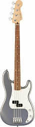 FENDER Player Precision Bass®, Pau Ferro Fingerboard, Silver бас-гитара