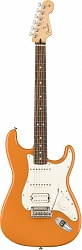 FENDER PLAYER STRATOCASTER® HSS, PAU FERRO FINGERBOARD, CAPRI ORANGE