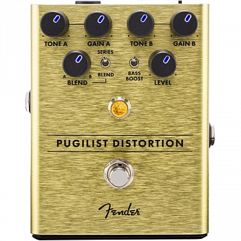 FENDER PUGILIST DISTORTION PEDAL – фото 1