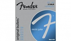 FENDER STRINGS NEW ORIGINAL BULLET 3150LR PURE NKL BLT END 9-46