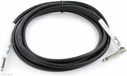 FENDER 10` ANGLE INSTRUMENT CABLE BLACK