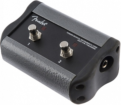 FENDER 2-Button Footswitch, Acoustic Pro/SFX®, Black Acoustic Pro SFX