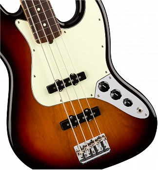 FENDER AM PRO JAZZ BASS RW 3TS