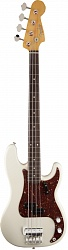 FENDER Custom Shop Sean Hurley Signature 1961 Precision Bass, Rosewood Fingerboard, Olympic White бас-гитара
