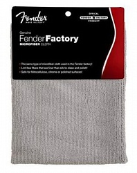 FENDER® FACTORY MICROFIBER CLOTH GRAY
