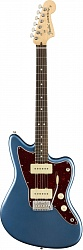 FENDER AMERICAN PERFORMER JAZZMASTER®, ROSEWOOD FINGERBOARD, SATIN LAKE PLACID BLUE