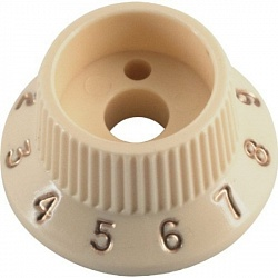 FENDER S-1 SWITCH STRATOCASTER® KNOB CAPS WHITE (2)