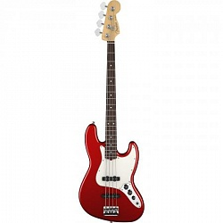 FENDER AM PRO Jazz Bass® Rosewood Fingerboard Candy Apple Red