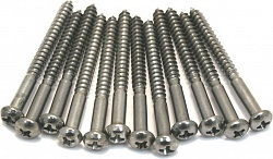 FENDER SCREW 4 X 1-1/4 (12)
