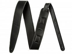 FENDER Artisan Crafted Leather Strap, 2` Black