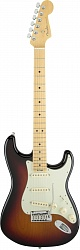 FENDER American Elite Stratocaster®, Maple Fingerboard, 3-Color Sunburst