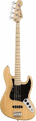 FENDER American Original `70s Jazz Bass®, Maple Fingerboard, Natural бас-гитара