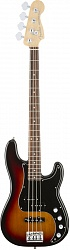 FENDER American Elite Precision Bass®, Ebony Fingerboard, 3-Color Sunburst