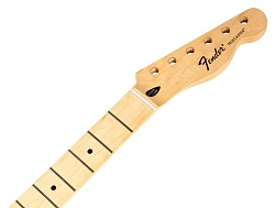 FENDER Standard Series Telecaster Neck, 21 Medium Jumbo Frets, Maple