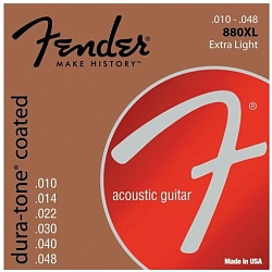 FENDER Dura-Tone 880XL 80/20 Coated 10-48