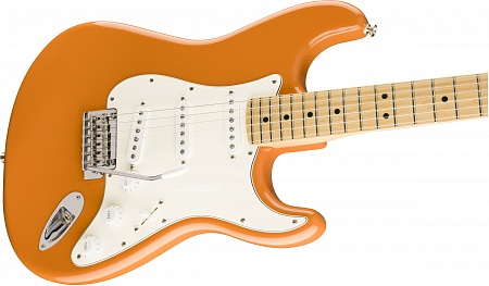 FENDER PLAYER STRATOCASTER®, MAPLE FINGERBOARD, CAPRI ORANGE – фото 3