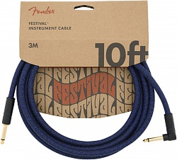 FENDER 10` ANG CABLE, BLUE DREAM