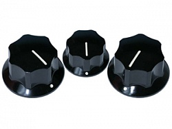 FENDER JAZZ BASS KNOBS (3)