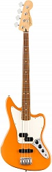 FENDER Player Jaguar® Bass, Pau Ferro Fingerboard, Capri Orange бас-гитара