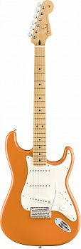 FENDER PLAYER STRATOCASTER®, MAPLE FINGERBOARD, CAPRI ORANGE – фото 1