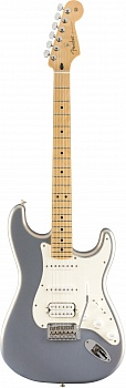 FENDER PLAYER STRATOCASTER® HSS, MAPLE FINGERBOARD, SILVER – фото 1