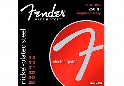 FENDER STRINGS NEW SUPER 250RH NPS BALL END 10-52