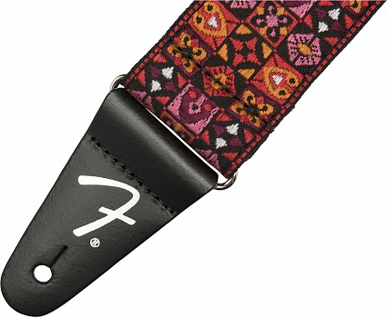 FENDER 2` FESTIVAL STRAP, RED – фото 2