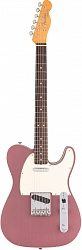 Fender Custom Shop 1963 Journeyman Relic Telecaster Custom, Rosewood Fingerboard, Aged Burgundy Mist Metallic