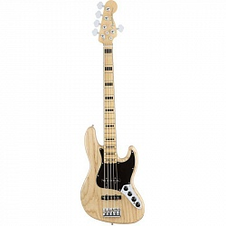 FENDER AM PRO Jazz Bass® Ash Maple Fingerboard Natural бас-гитара