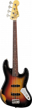 Fender Custom Shop Jaco Pastorius Tribute Jazz Bass, Rosewood Fingerboard, 3-Color Sunburst – фото 1