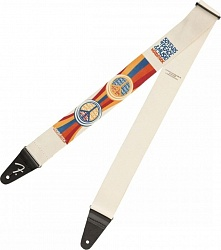 FENDER 2` WOODSTOCK STRAP, PEACE