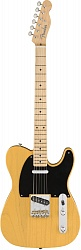 Fender American Original `50s Telecaster®, Maple Fingerboard, Butterscotch Blonde