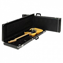 FENDER G&G Standard Mustang/Jag-Stang/Cyclone Hardshell Case, Black with Black Acrylic Interior