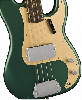 FENDER 2018 JOURNEYMAN RELIC® 1959 PRECISION BASS - AGED SHERWOOD GREEN METALLIC – фото 3