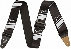 FENDER 2` COMPETITION STRIPE STRAP SILVER